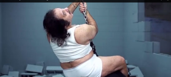 Ron Jeremy's filthy 'Wrecking Ball