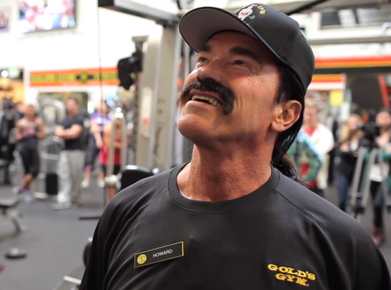 Arnold Schwarzenegger Pranks People at Gold's Gym